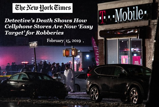 New York Times Story on CellPhone Robberies