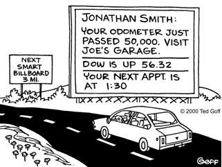 Smart Billboard cartoon
