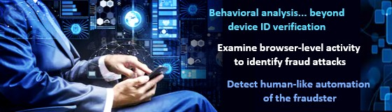 NuData Analyzes Behaviors to Stop Automated Fraud Attacks & Identify Fake Customers Inside the Firewall